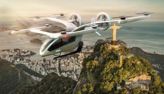 Embraer vai iniciar simulação de 'carro voador' ligando a Barra ao Aeroporto do Galeão