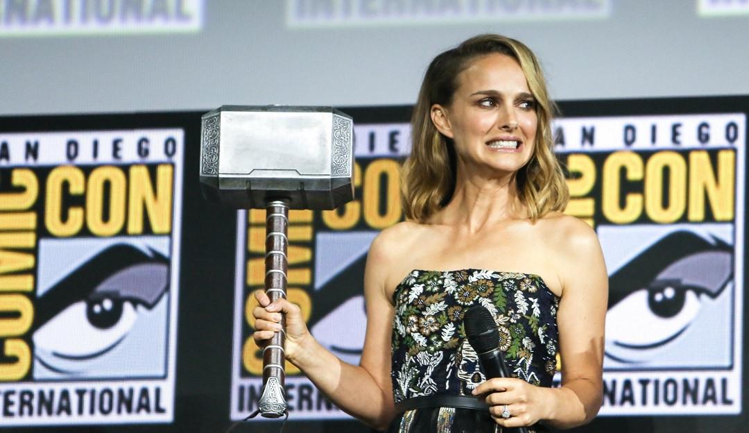 Natalie Portman comenta preparo físico para ser heroína em novo filme da Marvel