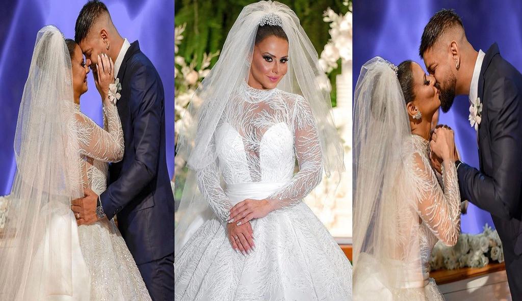Viviane Araújo e Guilherme Militão realizam a tão sonhada festa de casamento
