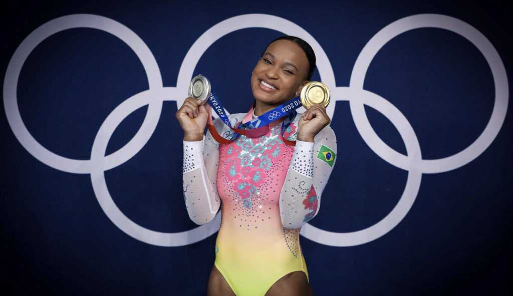 Exclusivo: Rebeca Andrade fala sobre suas lesões, inspirações e sobre as olimpíadas