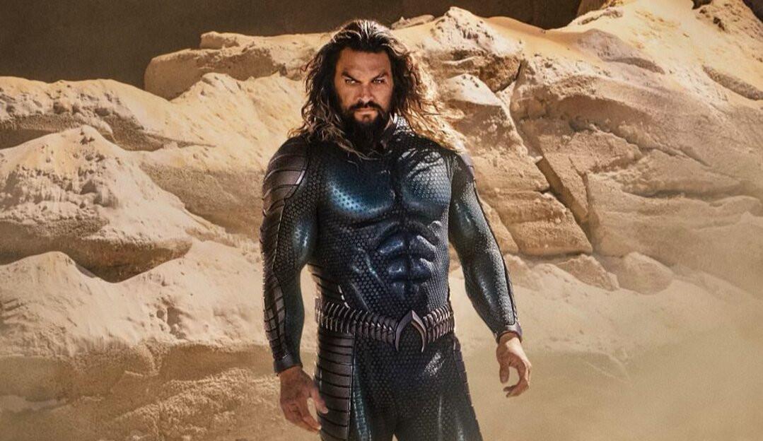 'Aquaman 2': Jason Momoa revela novo visual do herói em foto divulgada nas redes sociais