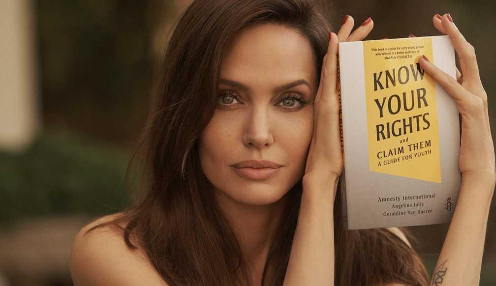 Angelina Jolie lança livro infantil sobre a luta por direitos