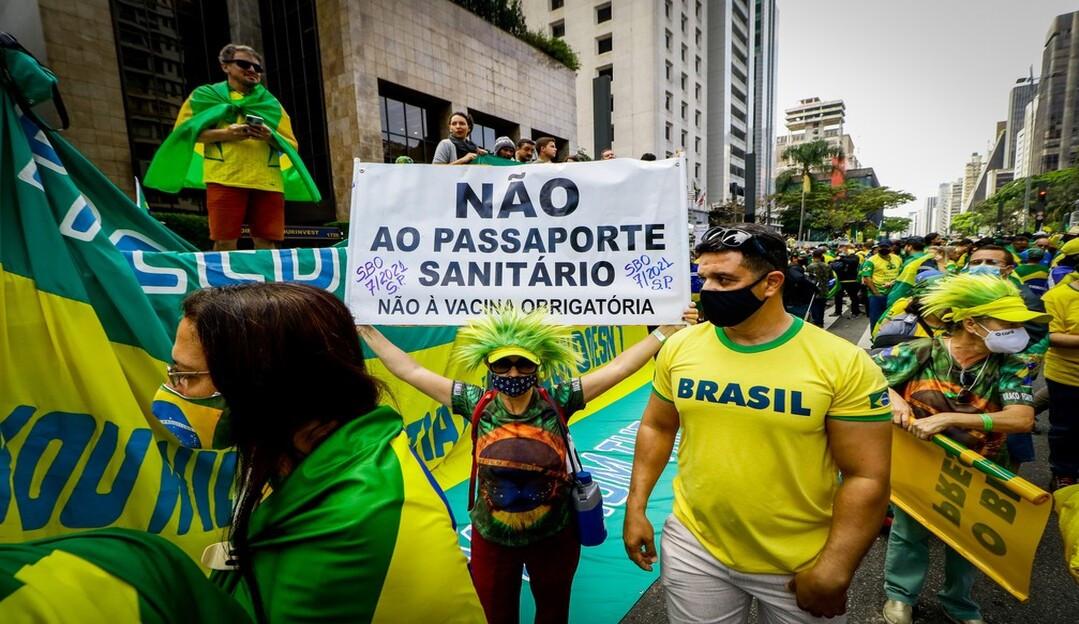 Feriado de 7 de setembro é marcado por manifestações em todo Brasil