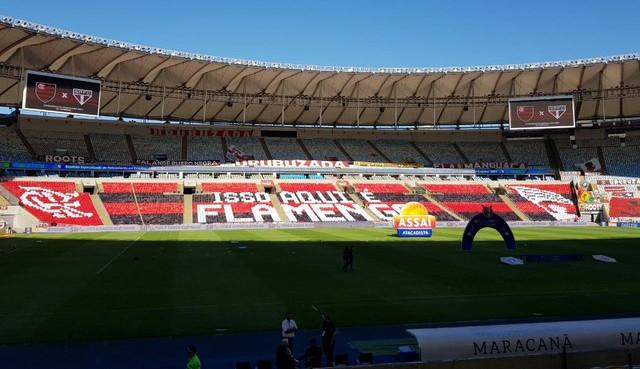 Prefeitura do Rio libera público no Maracanã para jogo do Flamengo