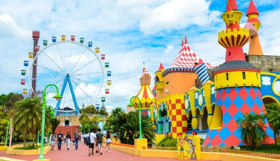 Empresas de parques de diversão apostam em novidades para atrair o público