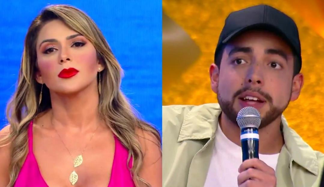 No final do 'Ilha Record', Nadja faz acusações contra Lucas Selfie