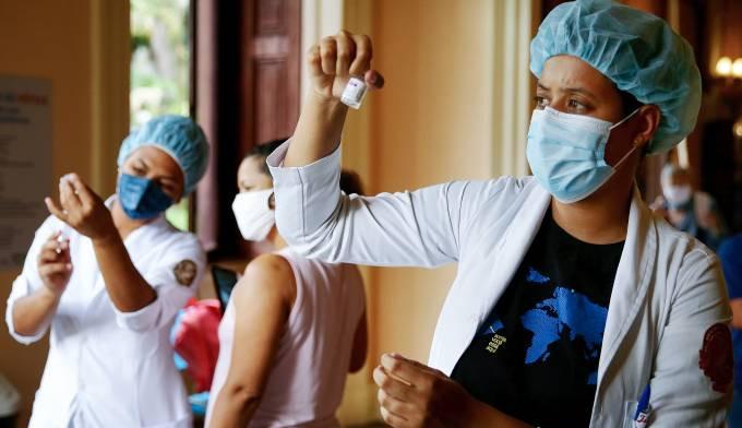Brasil bate recorde de imunizados contra a covid-19 no período de 24 horas