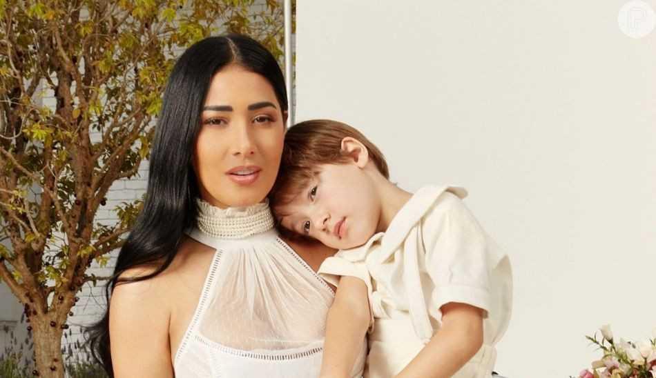 Simaria comemora com festão os 6 anos de seu filho Pawel