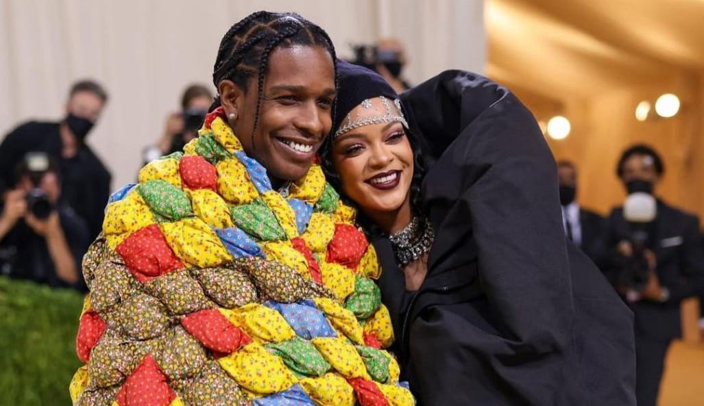 Rihanna e ASAP Rocky: o casal meme do MET Gala 2021