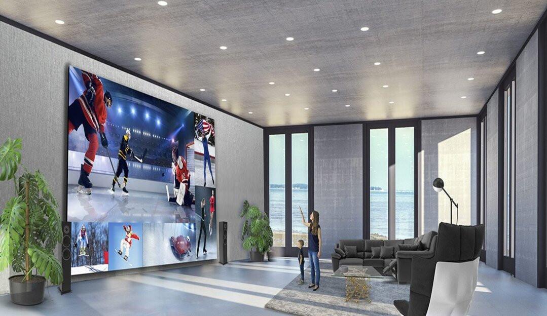 Home Cinema: LG aposta em linha de TVs gigantes com tela de até 365 polegadas