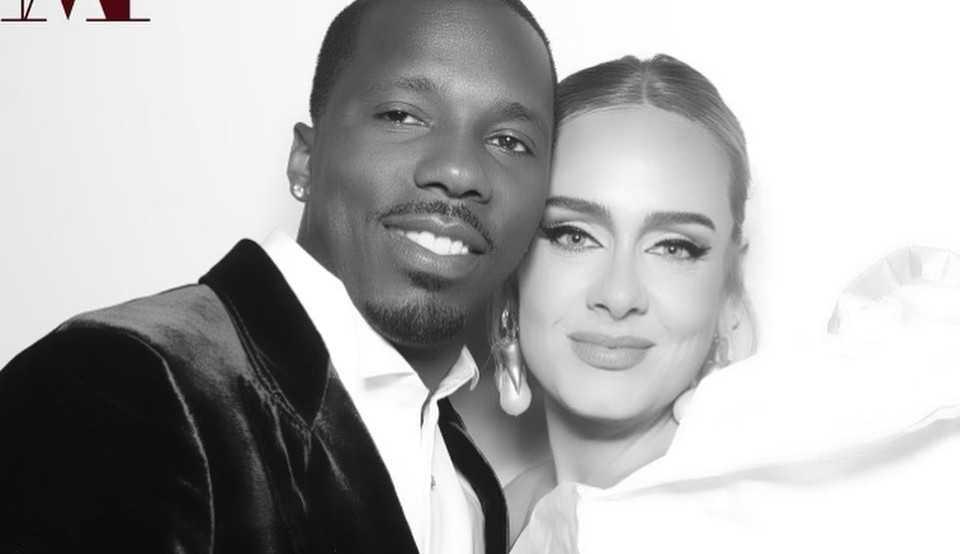 Adele posta pela primeira vez nas redes sociais foto com o namorado Rich Paul