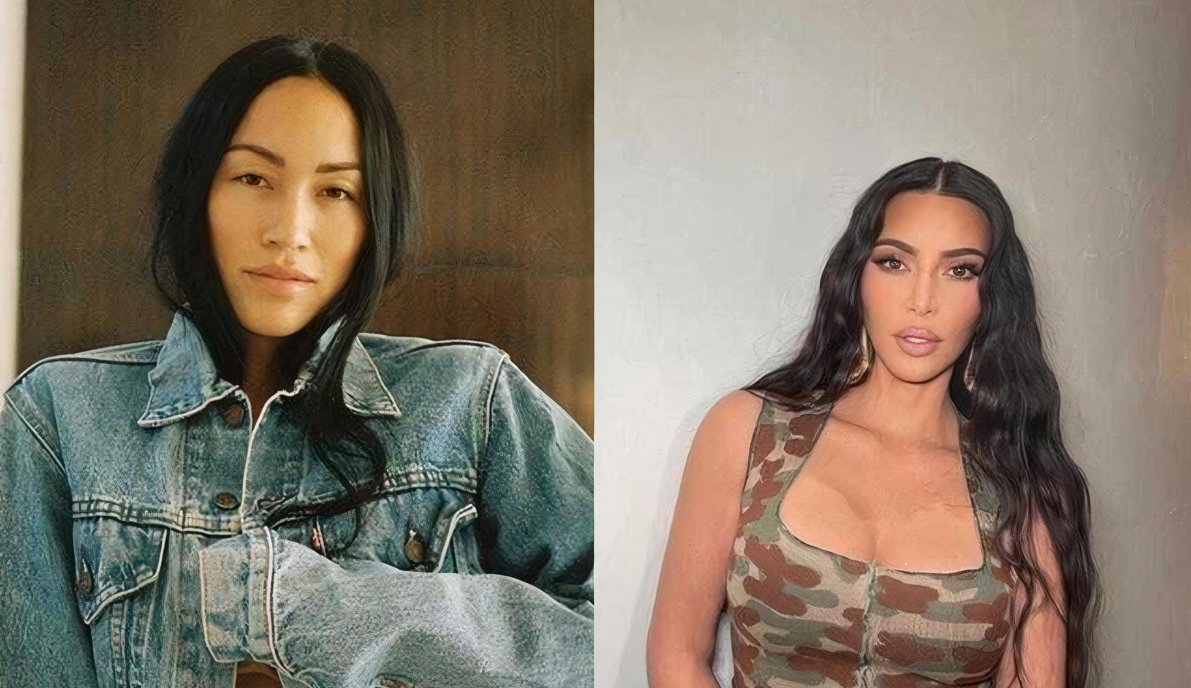 Demitida por Kim Kardashian, ex-assistente chora ao ganhar bolsa de aniversário avaliada em R$133 mil da empresária.