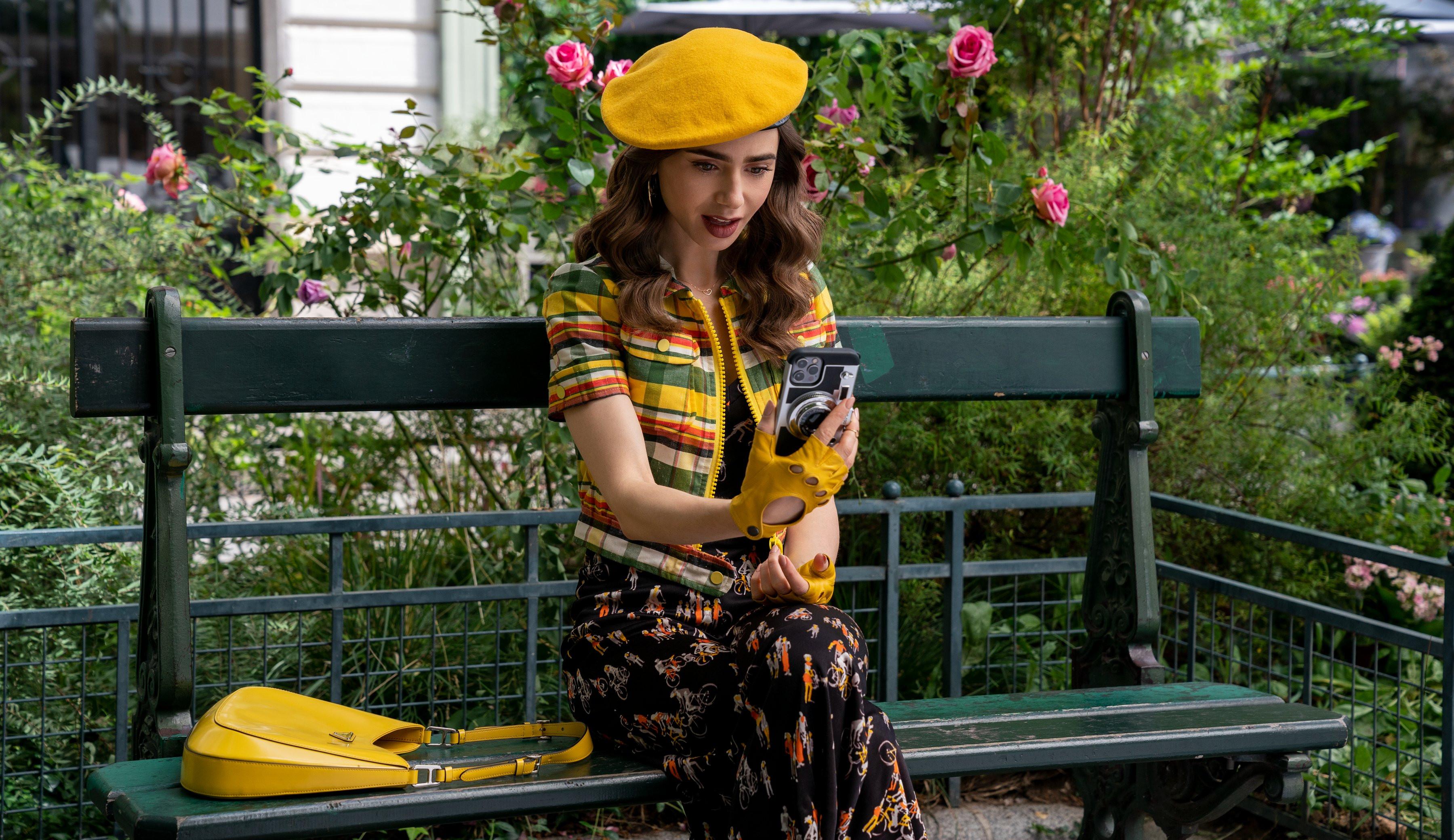 Emily em Paris: Netflix divulga imagens da segunda temporada