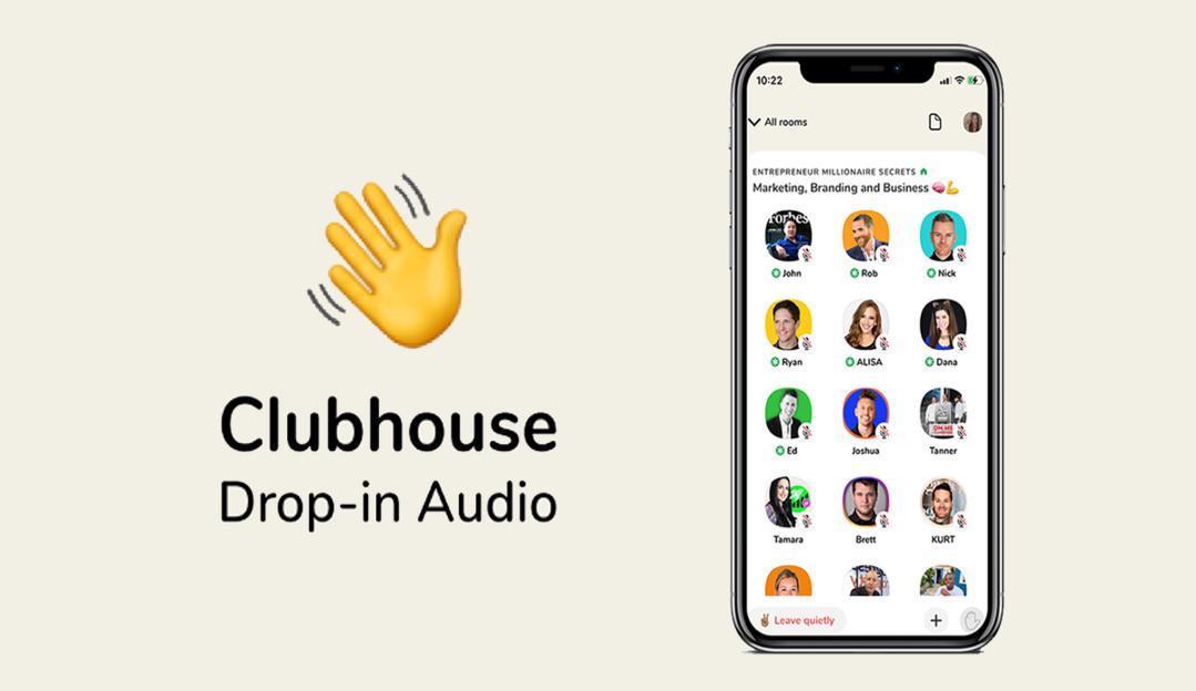 Novo recurso de bate-papo privado é lançado pelo Clubhouse