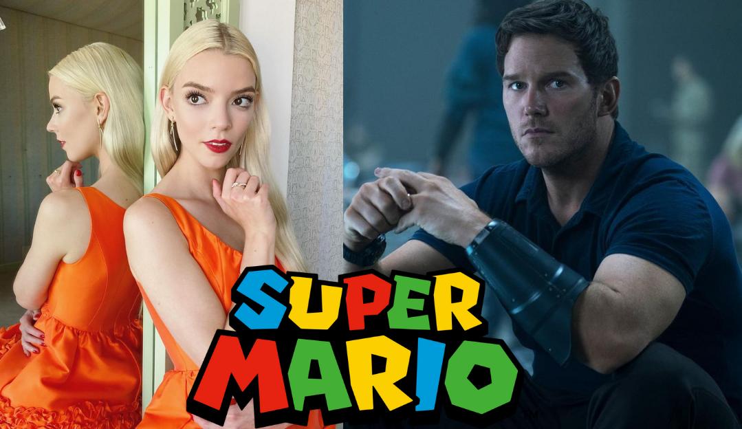 Chris Pratt e Anya Taylor-Joy são nomes presentes na animação de 'Super Mario Bros.'