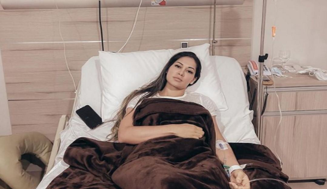 Mayra Cardi posta foto no hospital e agradece fãs e todos que a tem apoiado durante sua internação