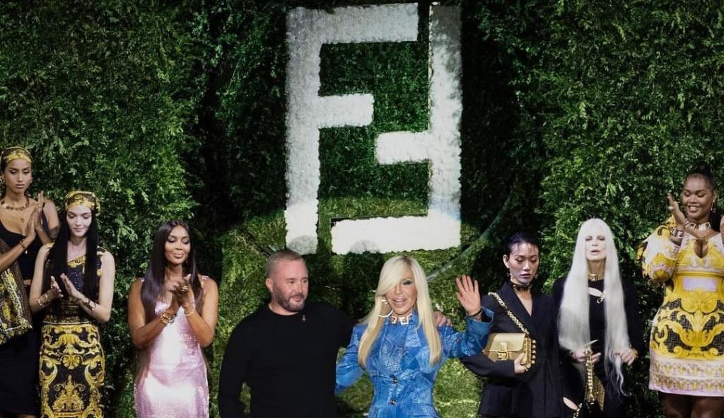 MFW: Versace x Fendi
