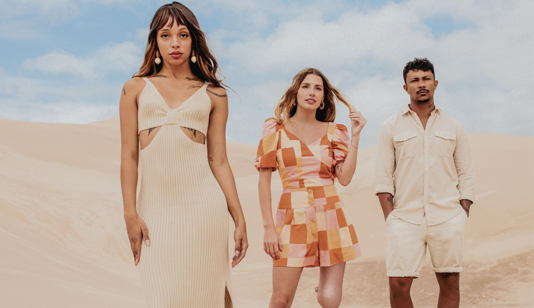 Rapper Xamã é a estrela da nova coleção da Renner: Primavera dos sonhos