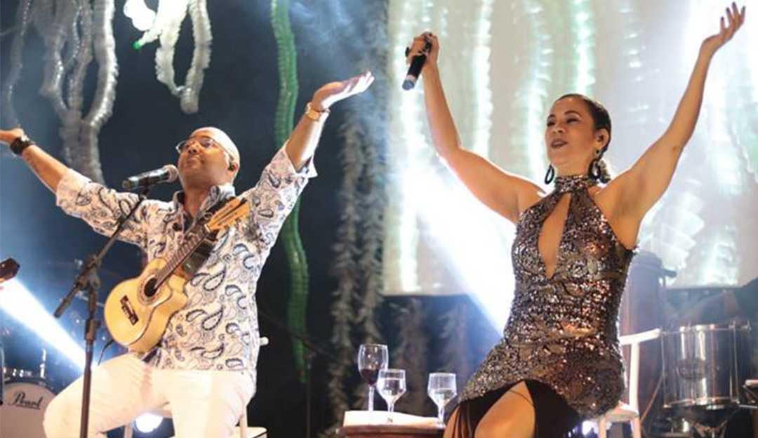 Cantora Carla Rio grava samba com Dudu Nobre