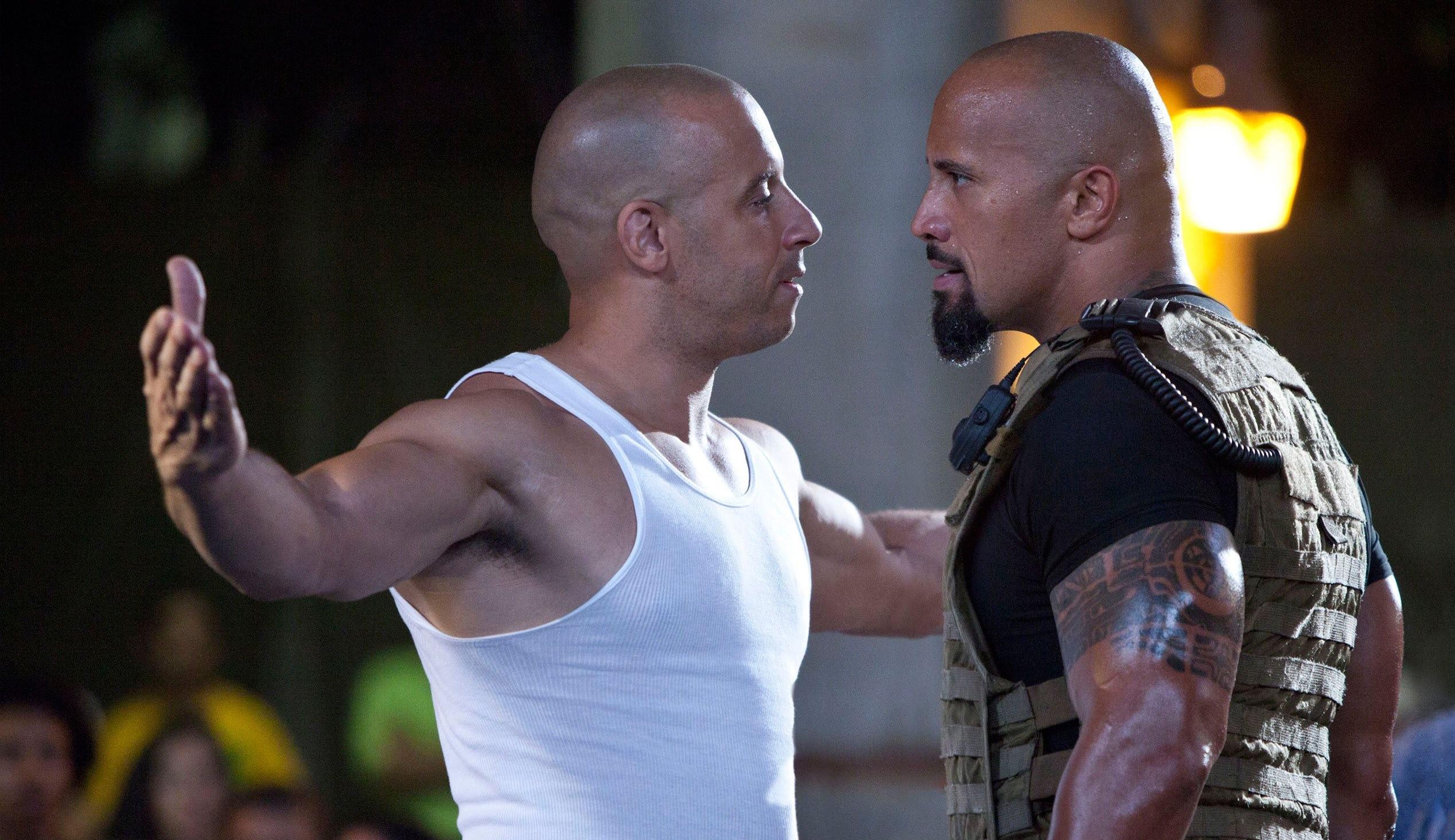 Dwayne Johnson fala sobre briga com Vin Diesel: 'Falei sério'
