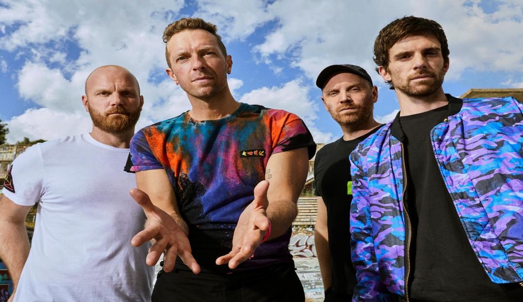 Coldplay é presença garantida no Palco Mundo do Rock in Rio 2022