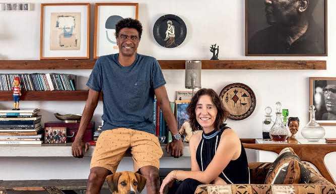 Casa Vogue apresenta a casa de Hélio De La Peña e Ana Quintella