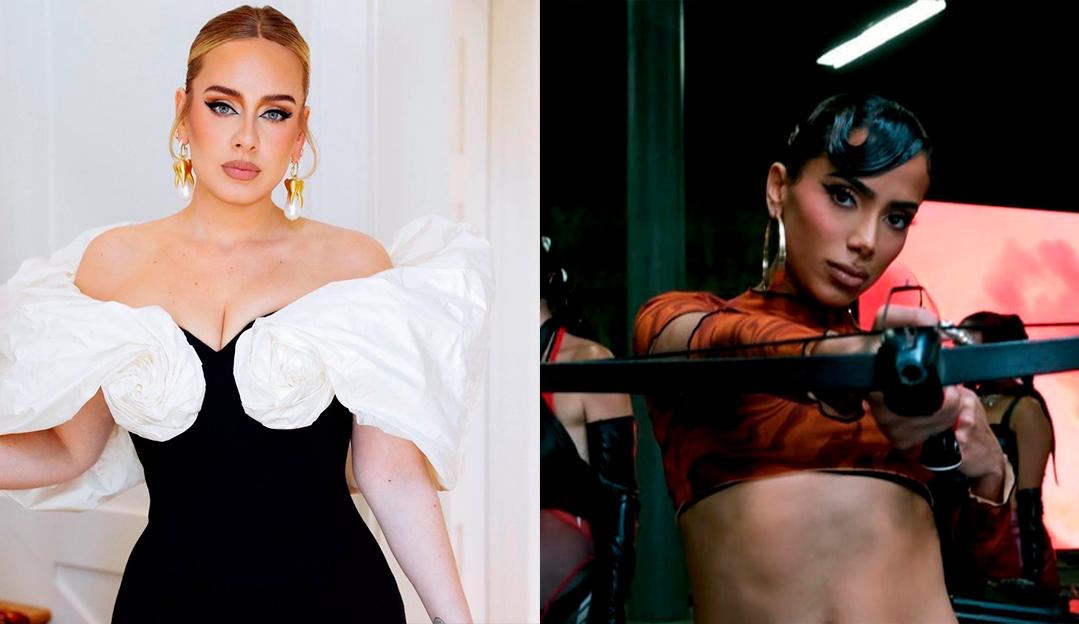 Anitta fala sobre single lançado no mesmo dia que Adele: 'Não tenho medo de artista'