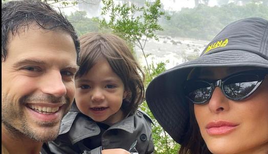 Sabrina Sato leva a filha Zoe para conhecer as Cataratas do Iguaçu