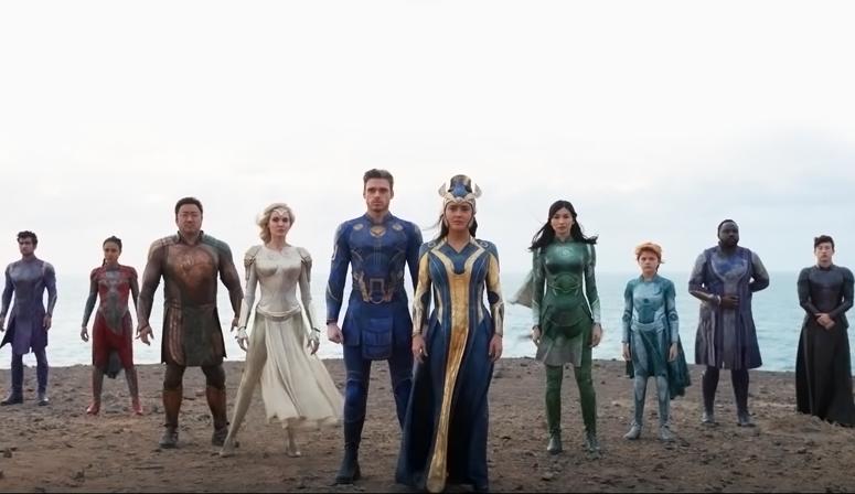 Primeiras reações de 'Os Eternos' fazem 'arco dos Vingadores parecer minúsculo' para críticos
