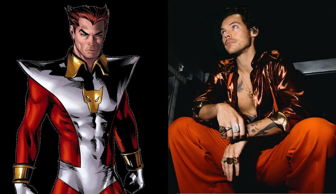 Harry Styles interpretará Starfox, irmão de Thanos, em 'Os Eternos'
