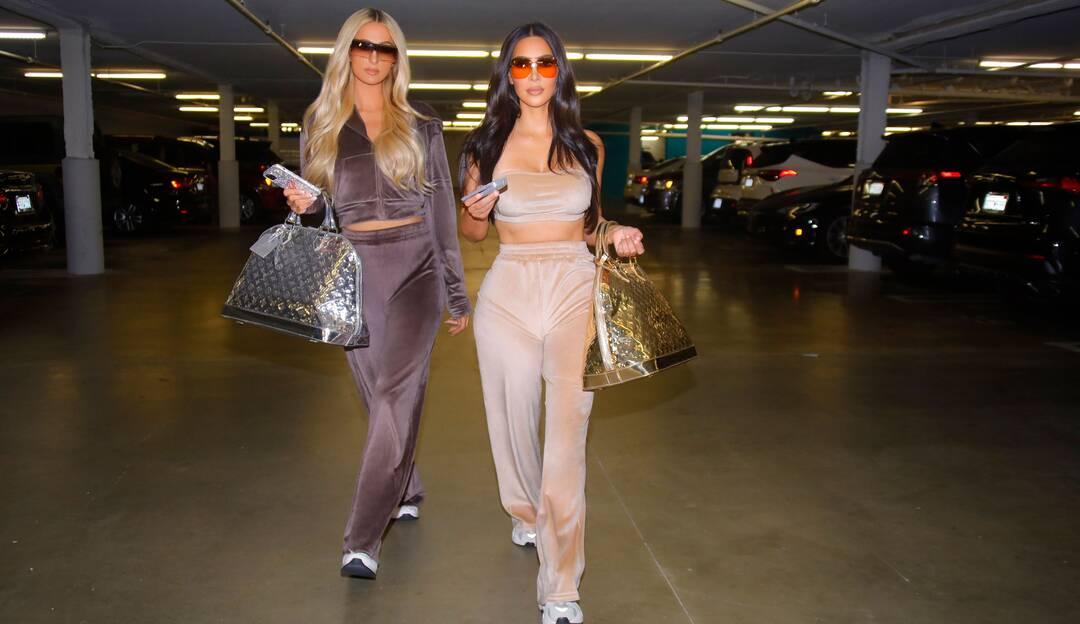 Kim Kardashian cria coleção de roupas em veludo