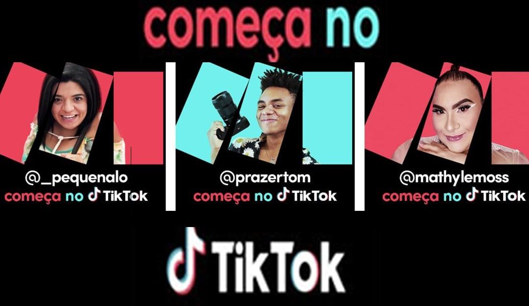 'Começa no Tik Tok' plataforma lança primeira campanha nacional
