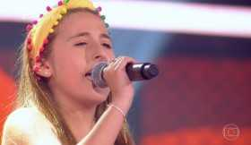 Destaque no The Voice Kids, Sophia Marie volta a se apresentar